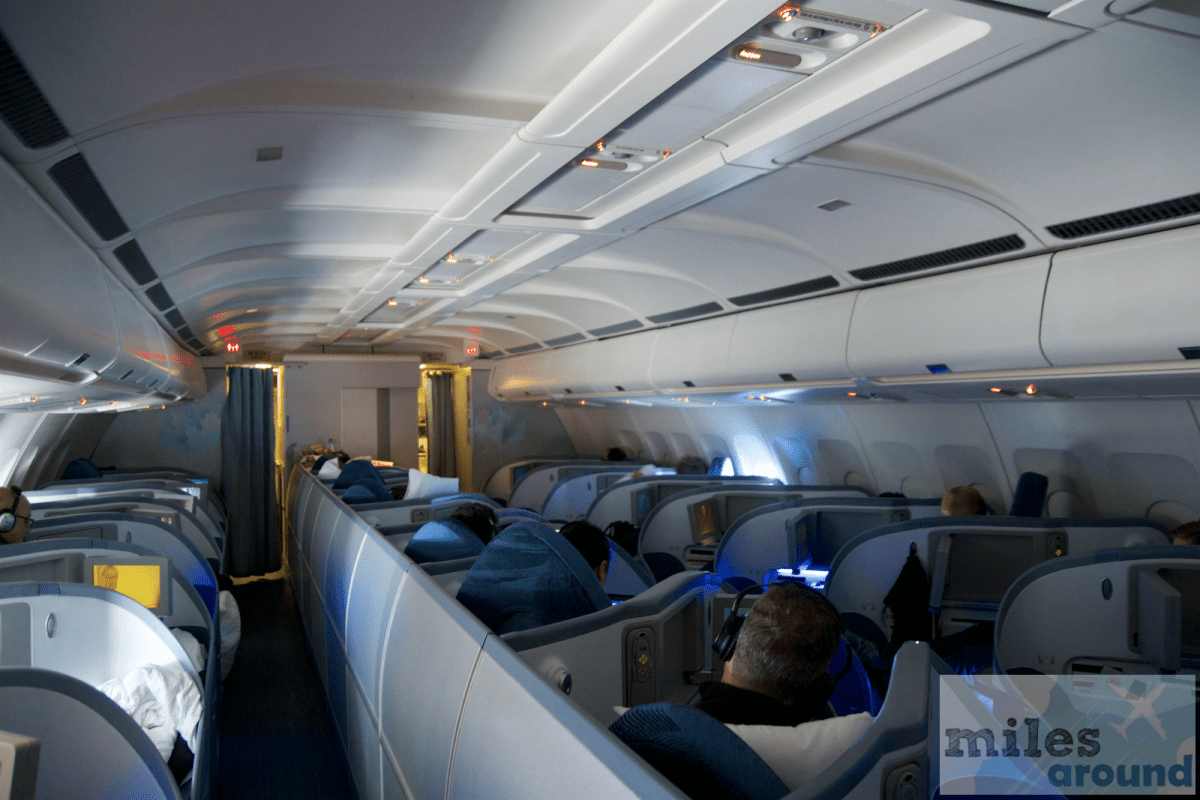 Air Canada Business Class in the Airbus A330-300 to Toronto